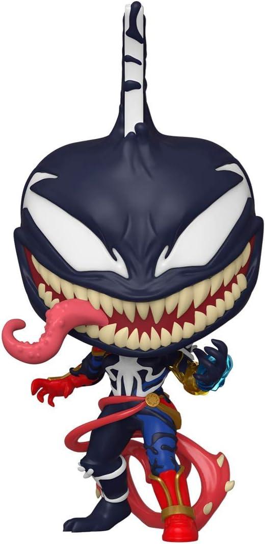 Funko- Pop MAX Venom-Captain Marvel Figura Coleccionable, Multicolor (46456)