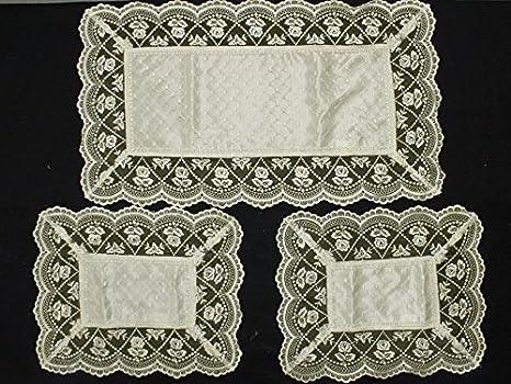Tessili per la casa Casa e cucina Russo Tessuti Set 3 pezzi RUNNER ...