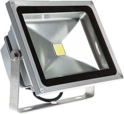 PMS® 10W/20W/30W/50W Blanco Frío Luz Proyector LED Foco proyector ...