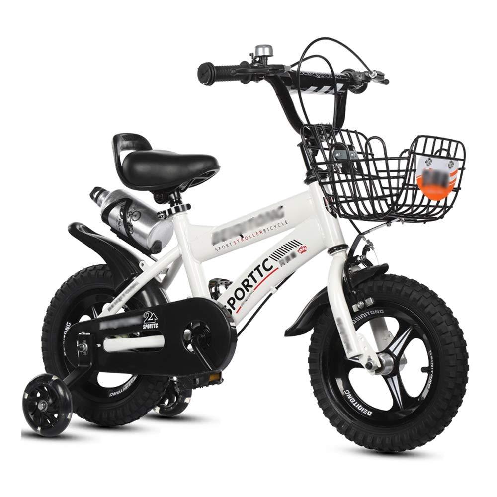 sin mínimo blanco-1 46.7CM LJJL Bicicleta Bicicleta Bicicleta De Pie para Bicicleta blancoa para Niños con Rueda Y Caldera Auxiliares Que Tanto Niños como Niñas Pueden Usar Bicicletas Infantiles  alto descuento
