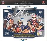 2010 Topps Platinum Football Hobby Box - NFL Football Cards