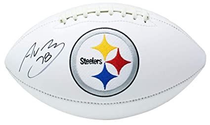 449be71d1 Alejandro Villanueva Autographed Football - Logo SI - Beckett  Authentication - Autographed Footballs