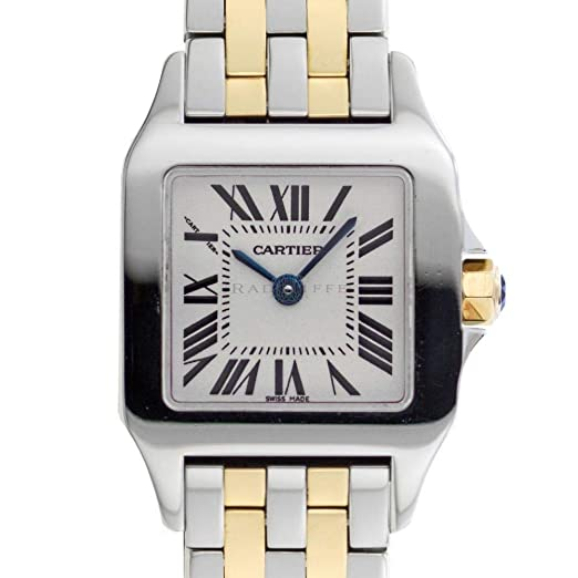 Cartier Santos Demoiselle W25066Z6 - Reloj de Cuarzo para Mujer (Certificado de Propiedad previa)