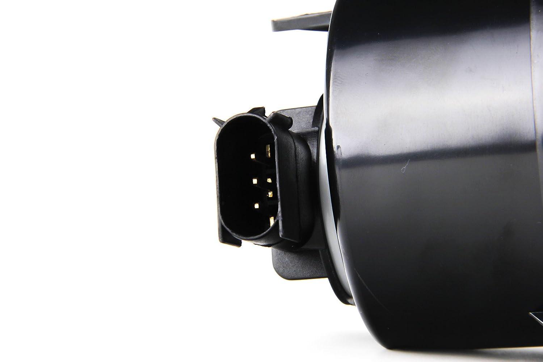 2PCS griglia anteriore LED indicatori di direzione luce montaggio Smoke Lens Amber lampada Marker turning Light Side Maker comando luci per Wrangler JK