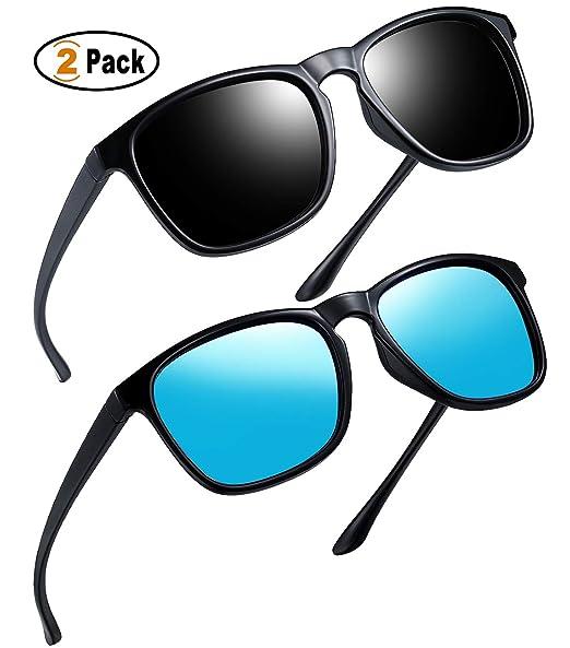 3936761d56 Joopin Retro Men Polarized Sunglasses - Classic Brand Designer Sun Glasses  for Women Lightweight Frame E8916