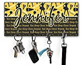 RNK Shops Cheer Key Hanger w/ 4 Hooks (Personalized)