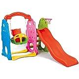 Indoor/Outdoor Kid's Slide Swing Set