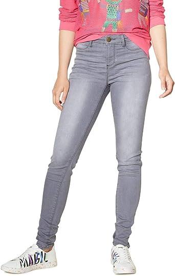 Desigual Long Trouser Sky Woman Vaqueros Skinny para Mujer