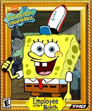 amazon spongebob squarepants employee of the month 輸入版