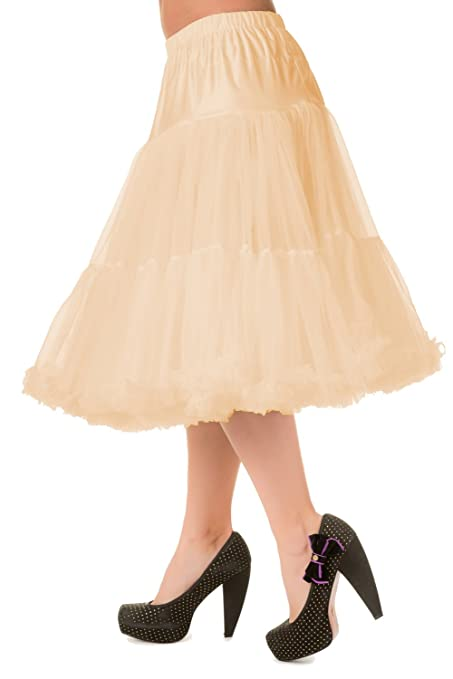 Crinoline Skirt | Crinoline Slips | Crinoline Petticoat Soft! Banned 26 Inch Petticoat - 8 Colours $50.95 AT vintagedancer.com