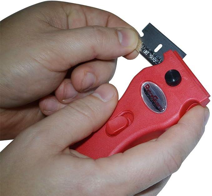 Amazon.com: RetraGuard - Rascador para cuchillas de afeitar ...
