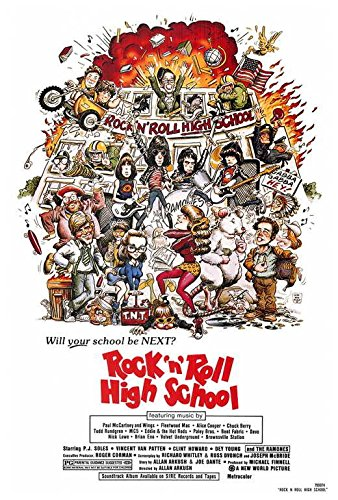 Rock 'n' Roll High School Movie POSTER 27 x 40, P.J. Soles, Vincent Van Patten, A, MADE IN THE U.S.A. (Pj Soles Rock And Roll High School)