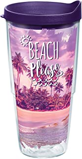 Tervis 1272797 Florida Key West Collage Tumbler with Wrap 9oz Wine Glass Clear