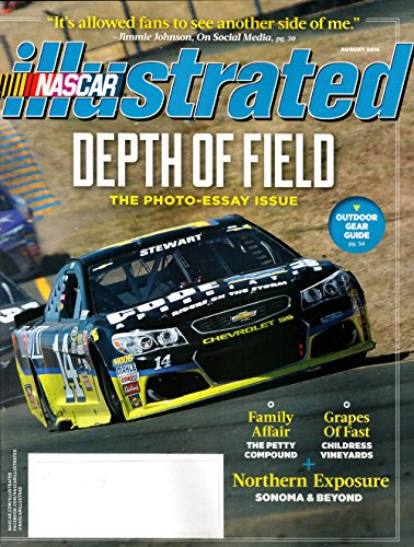 (NASCAR Illustrated Magazine August 2016 | Depth of Field Photo Essay Issue)