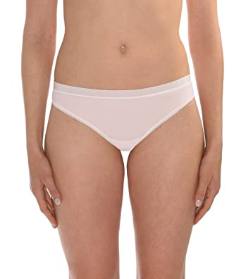 4001eec8559 Naked Womens Whisper Collection Nylon Spandex Thong Underwear for Ladies at Amazon  Women s Clothing store