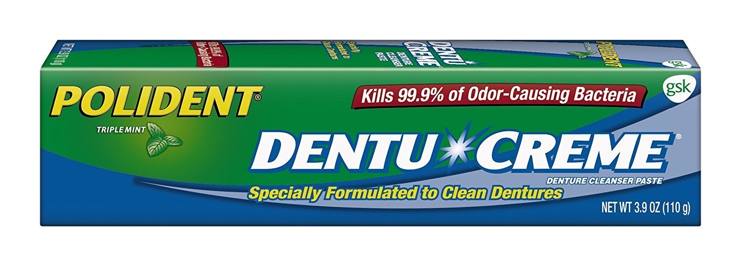 Polident Dentu-Creme 3.90 oz (Pack of 3)