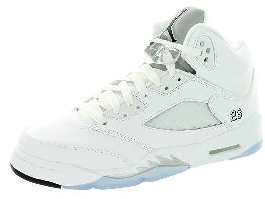 suministro de venta Air Jordan 5 Retro (bg) Blanco Niño / Metálico venta precio barato baúl barato mejor lugar barato tRhUmSN6Gl