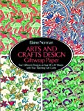 Arts and Crafts Design Giftwrap Paper, Elaine Norman, 048627764X