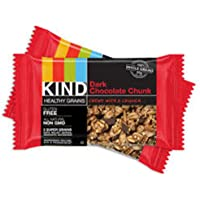Kind Healthy Grains Granola Bars, Dark Chocolate Chunk, 5 Count (Pack of 1)