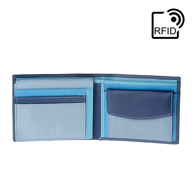 572a3f7c3d Opinioni per DUDU Portafoglio uomo RFID schermato Colorato in