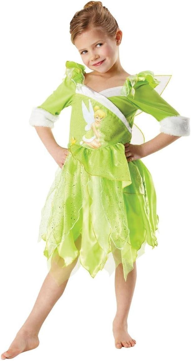 M 5-6 anni Abito e le ali Disney Costume Tinkerbell