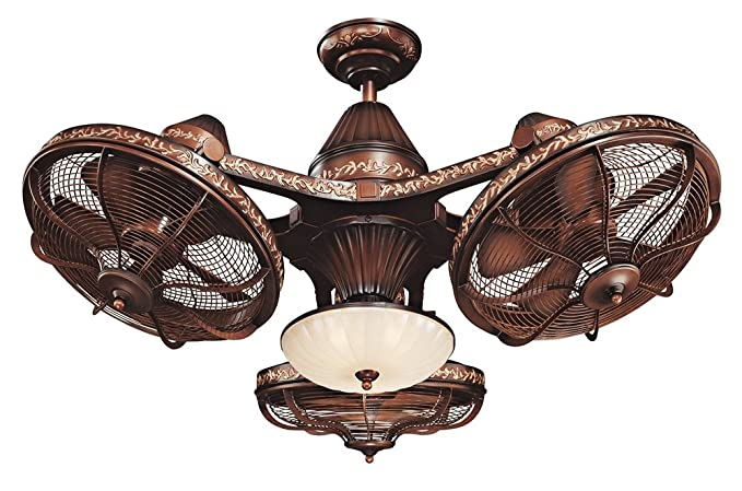 38 esquire rich bronze finish 3 head ceiling fan antique ceiling 38quot esquire rich bronze finish 3 head ceiling fan aloadofball Gallery