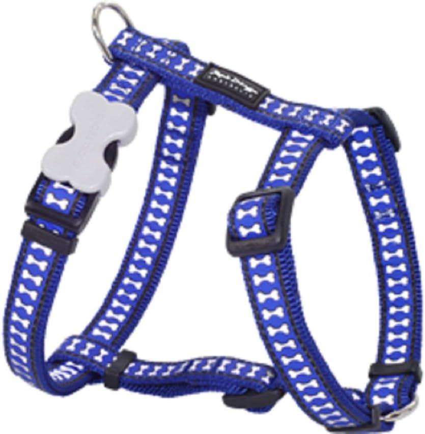Red Dingo dh-rb-db-lg perro arnés reflectante azul oscuro & # 44 ...
