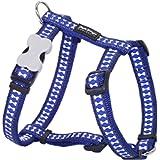 Red Dingo Reflective Dog Harness, Small, Dark Blue