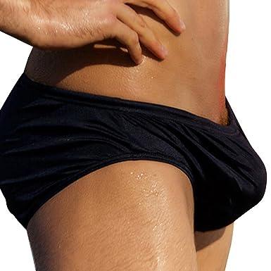 5ad7830824bb9 Austinbem Mens Swim Trunks , Mens Swim Briefs with Front Zip Pocket (US X-