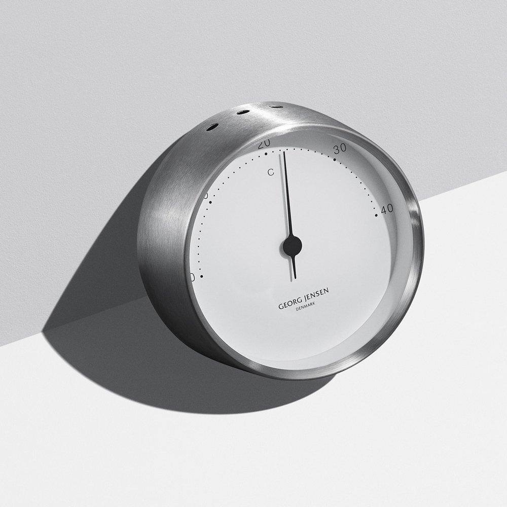 Georg Jensen Henning Koppel Thermometer 10Cm White/Steel