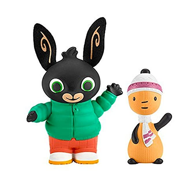 Bing Bunny Toy Figure Pack ~ Autumn Day Bing And Flop