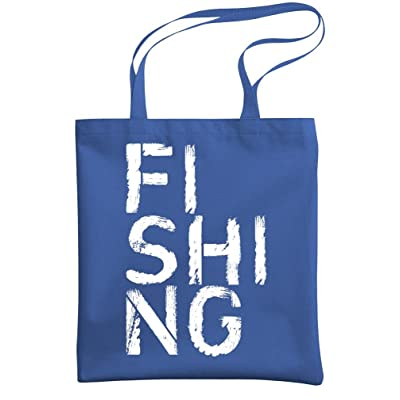60%OFF FISHING - angler fish lake trout ocean - Heavy Duty Tote Bag