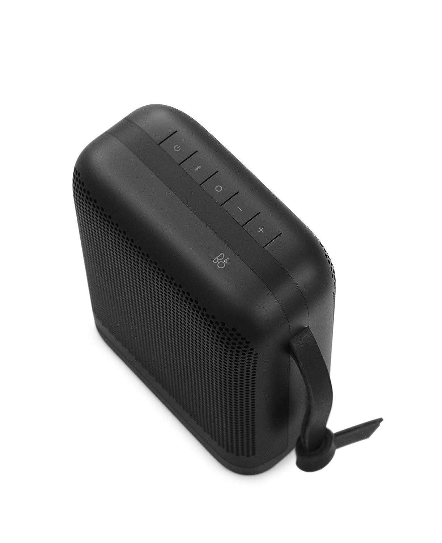 Bang & Olufsen Beoplay P6 - Altavoz Bluetooth portátil con micrófono, color negro