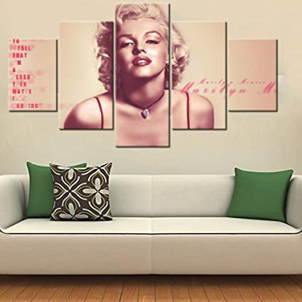 Amazon Com House Decorations Living Room Model Marilyn Monroe
