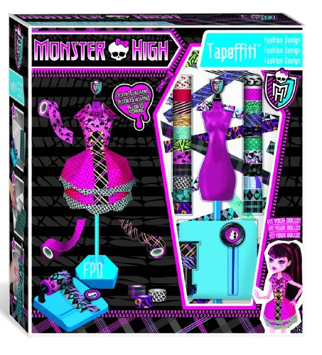 IMC Toys 871168MH - Monster High Tapeffiti – Fashion Design: Amazon ...