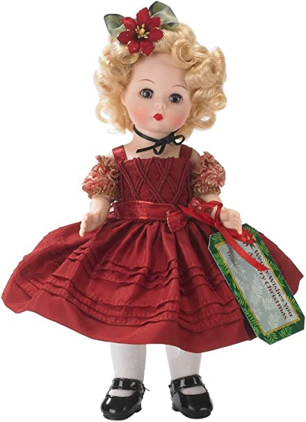 Blonde Wig with Flowers for 8/'/' Madame Alexander Dolls