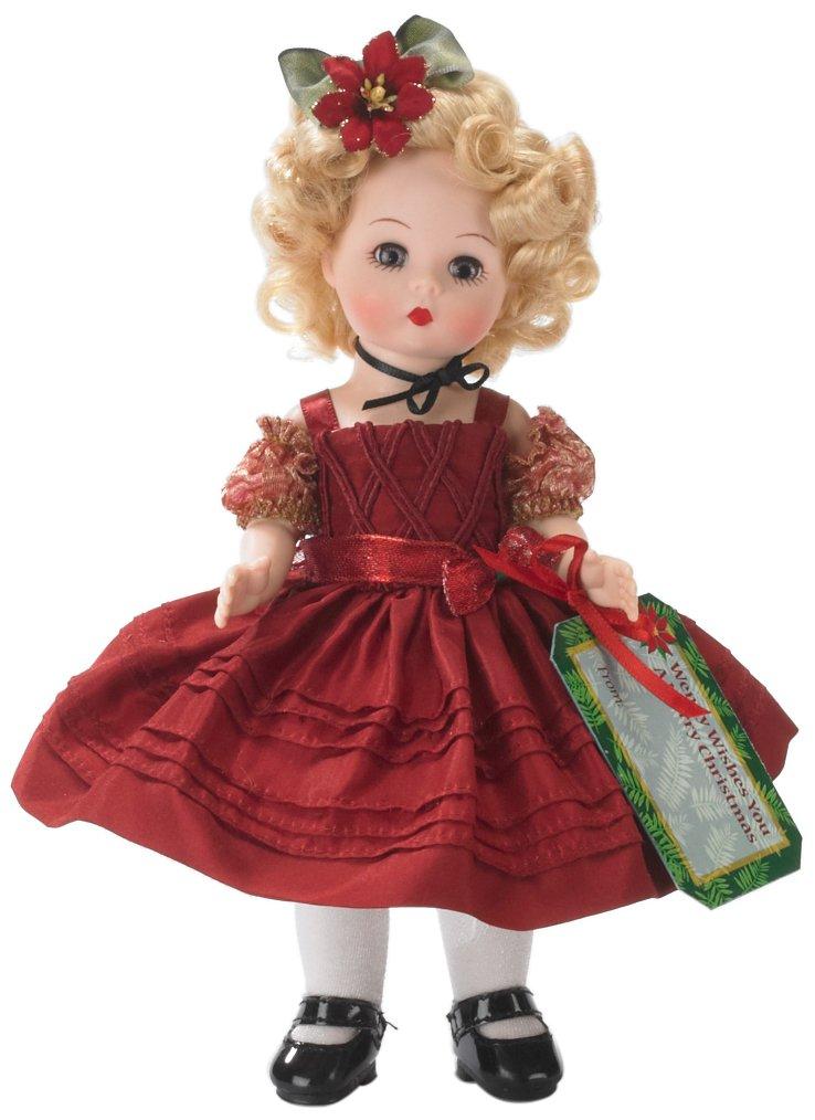 Con 100% de calidad y servicio de% 100. Madame Alexander Alexander Alexander Wendy Wishes You a Merry Christmas Fashion Doll  distribución global
