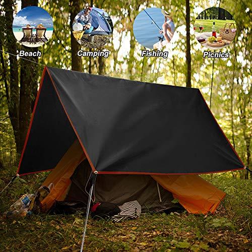 Ultra-light Waterproof Camping 2 Person Tent Tarp Footprint Groundsheet S//M