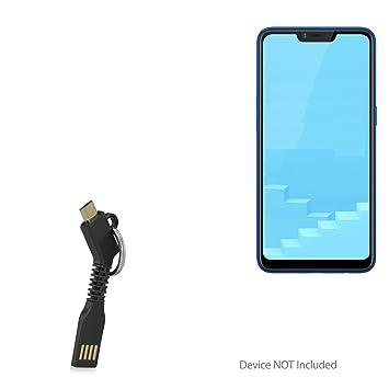 Realme C1 Cable, BoxWave® [Micro USB Llavero Cargador ...