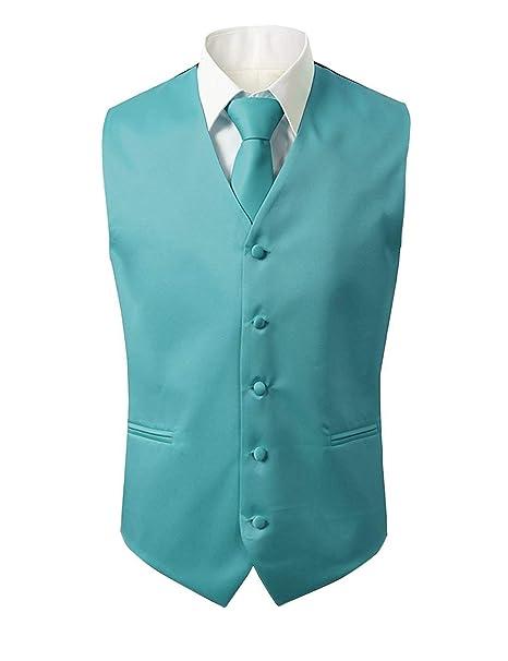 Chaleco para Hombres Elegante 5 Chaleco De Boda para Ropa Anteojos para  Corbata Tie Hanky  37585423daf