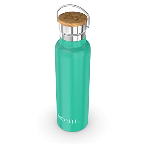 montii - 600 ml con aislamiento - botella de agua (acero ...