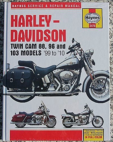 1999-2010 Harley Softail Fatboy Dyna Electra Glide Road King HAYNES SERVICE REPAIR MANUAL