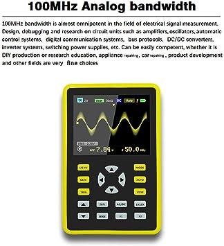 Dollatek Mini Digital Oscilloscope Portable 2 4 Lcd Elektronik
