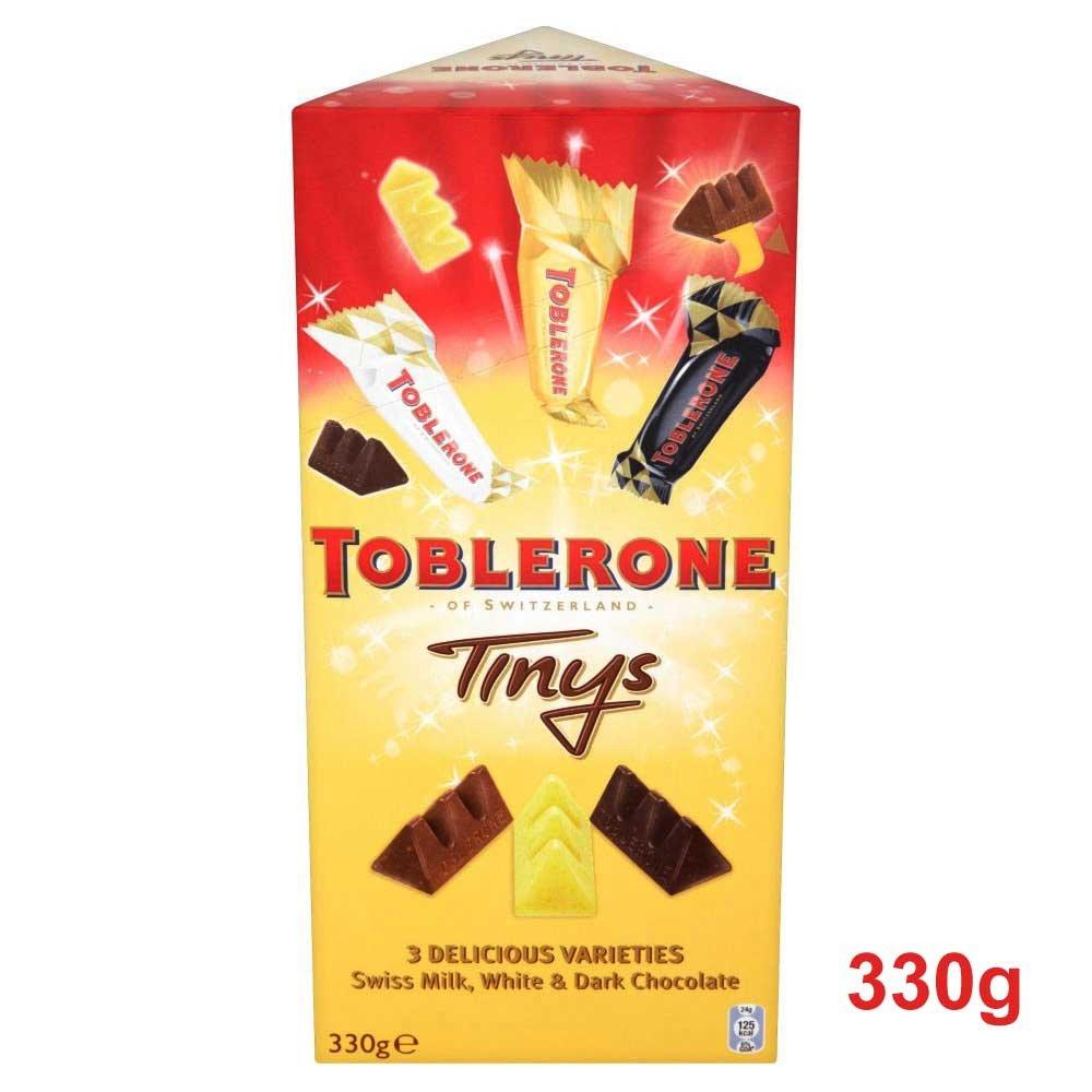 Amazon.com : Toblerone - Tiny - White, Milk Dark - 330g ...