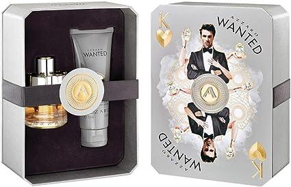Giosal - Estuche Azzaro Wanted para hombre con perfume EDT 50 ml + Hair Body 2 en 1 Shower Gel 100 ml: Amazon.es: Belleza