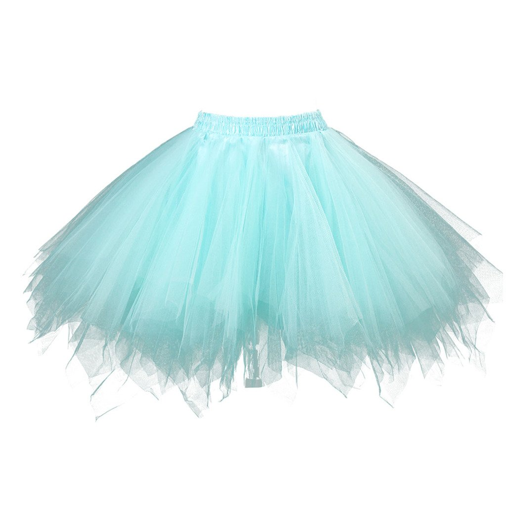 02e0d1140 Topdress Women's 1950s Vintage Tutu Petticoat Ballet Bubble Skirt (26  Colors) product image