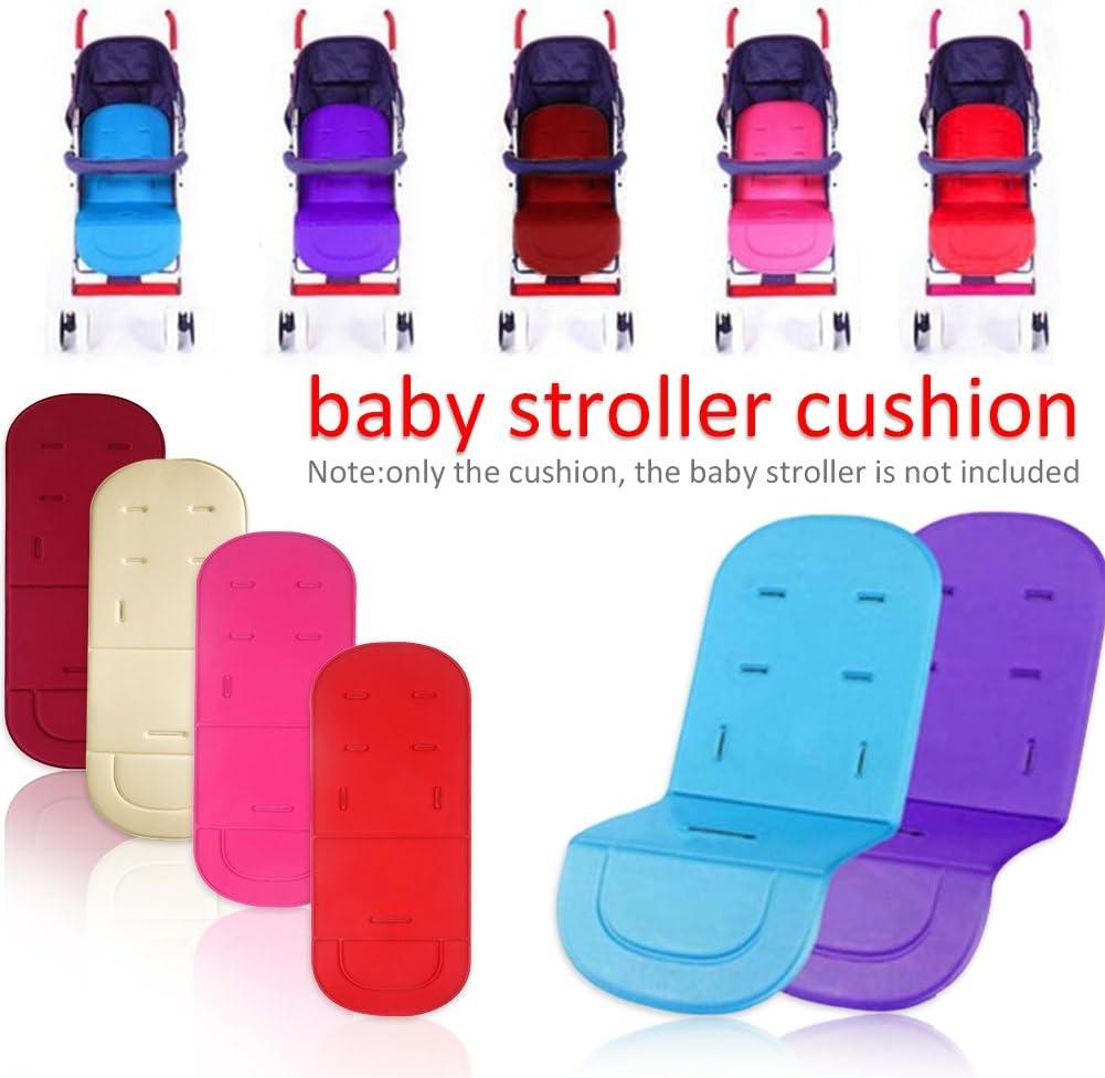 universal para cochecito de beb/é hot pink Talla:34 Alfombrilla de coj/ín para cochecito de beb/é 31.50 inch 80 cm//13.39