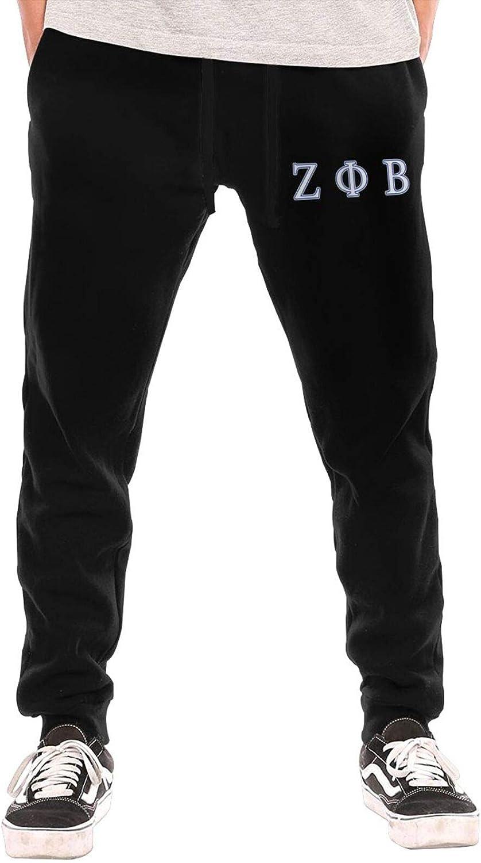 Zeta Phi Beta Mens Breathable Pant Leisure Sports Trousers