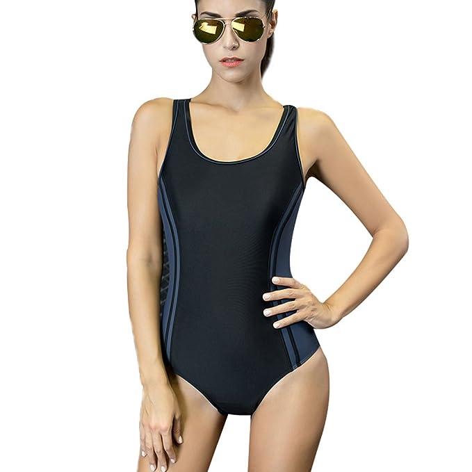 b0ead1301236 Selighting Bañador de Mujer Multicolor Bikini ropa de baño de una ...