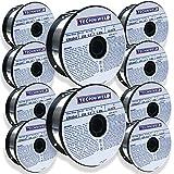 61X2oFs0JrL. SL160  - Techniweld ER4043 GENERAL PURPOSE Aluminum MIG Welding wire .035 1LB Lot 10